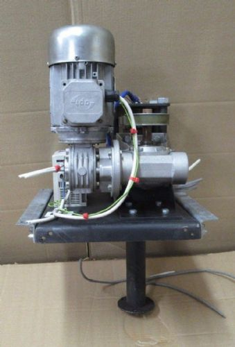 Bonfiglioli Vectron Worm Gearbox Electric Motor w/ Drive Retail Rotating Display